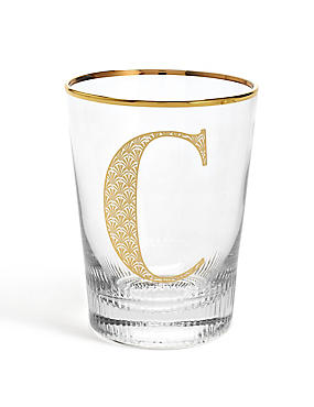 Alphabet C Glass, , catlanding