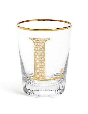 Alphabet L Glass, , catlanding