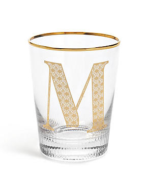 Alphabet M Glass, , catlanding