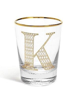 Alphabet K Glass, , catlanding