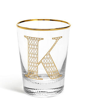 Alphabet K Glass, , catlanding