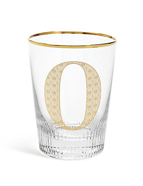 Alphabet O Glass, , catlanding