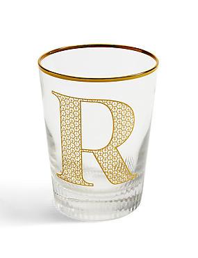 Alphabet R Glass, , catlanding