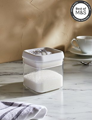 Small Flip Lock Storage Jar, , catlanding