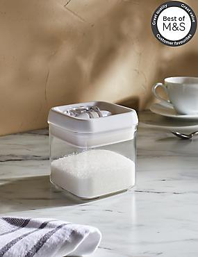 Small Flip Lock Storage Jar, , catlanding