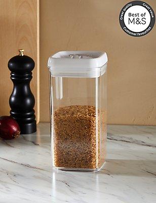 Large Flip Lock-Tight Storage Jar, , catlanding