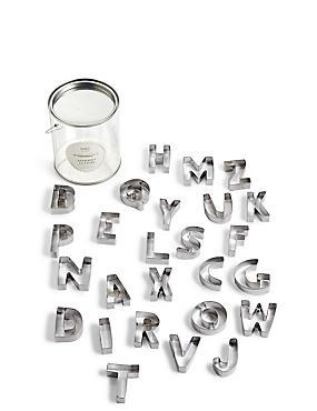 Large Set Alphabet Cutters, , catlanding