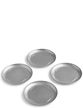 4 Pack Mini Pizza Trays, , catlanding