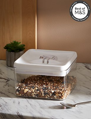 Boîte de rangement carrée hermétique et verrouillable de 3L , , catlanding