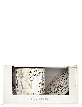 Nan Mug & Coaster Gift Set, , catlanding