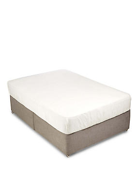 400 Thread Count Fitted Sheet , CREAM, catlanding