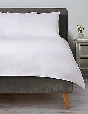 Anti-Allergy Duvet Cover, WHITE, catlanding
