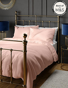 200 Thread Count Comfortably Cool Duvet Cover, SOFT PINK, catlanding