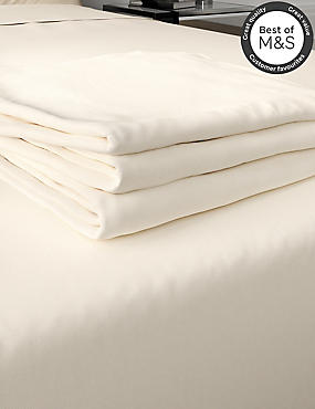 200 Thread Count Comfortably Cool Flat Sheet, CREAM, catlanding