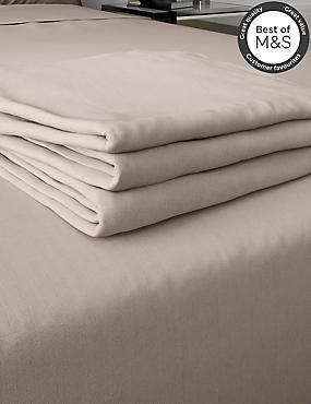 200 Thread Count Comfortably Cool Flat Sheet, TAUPE, catlanding