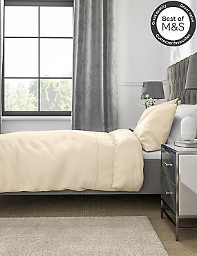 Non-Iron Pure Egyptian Cotton Duvet Cover, IVORY, catlanding