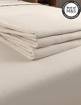 Non-Iron Pure Egyptian Cotton Flat Sheet, CREAM, catlanding