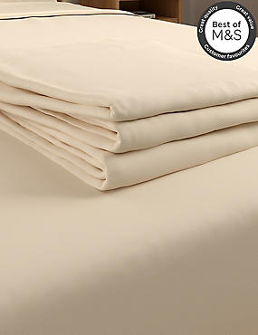Non-Iron Pure Egyptian Cotton Flat Sheet, IVORY, catlanding