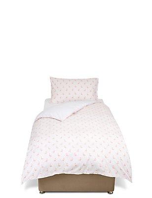 Flamingo Print Bedset, PINK MIX, catlanding