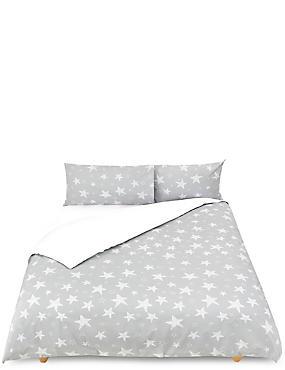 Giant Star Bedset, GREY MIX, catlanding