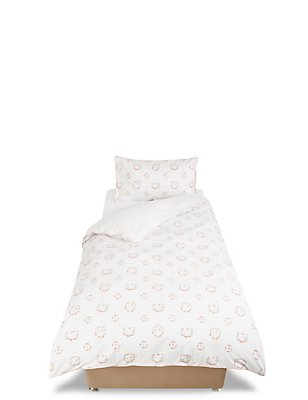 Bunny Floral Bedding Set, , catlanding