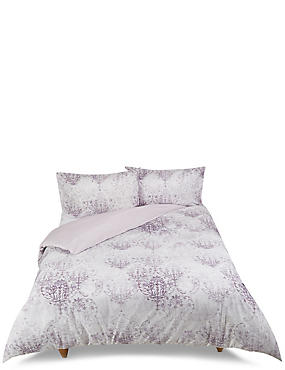 Distressed Tile Bedding Set, DAMSON MIX, catlanding