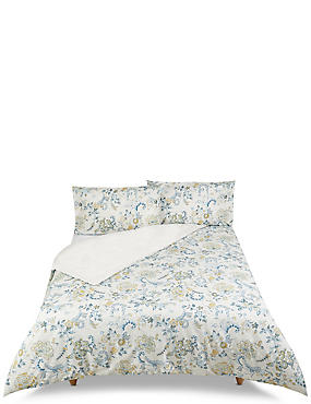 Harper Paisley Bedding Set, BLUE MIX, catlanding