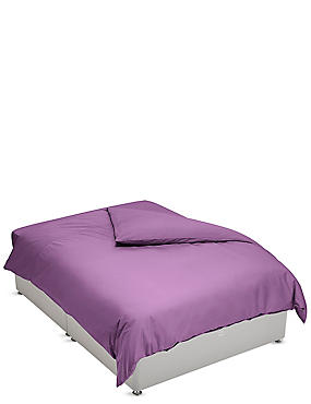 Percale Duvet Cover, WINE, catlanding