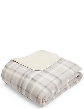 Dawson Fleece Throw, , catlanding