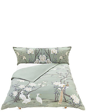 Ophelia Bedding Set, SAGE GREEN, catlanding