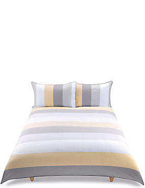 Brooklyn Striped Bedding Set, CREAM MIX, catlanding