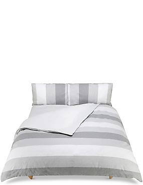 Brooklyn Striped Bedding Set, GREY MIX, catlanding