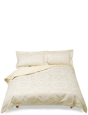 Ashley Jacquard Bedding Set, CREAM, catlanding