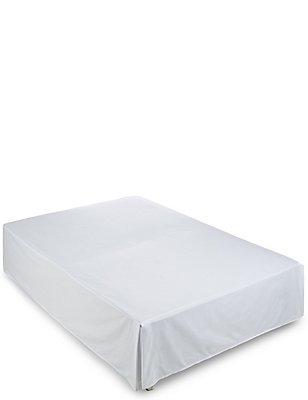 750 Thread Count Supima® Sateen Valance Sheet, WHITE, catlanding