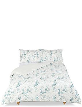 Yasmin Floral Print Bedding Set, LIGHT BLUE MIX, catlanding