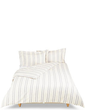 Hampden Striped Bedding Set, NATURAL MIX, catlanding