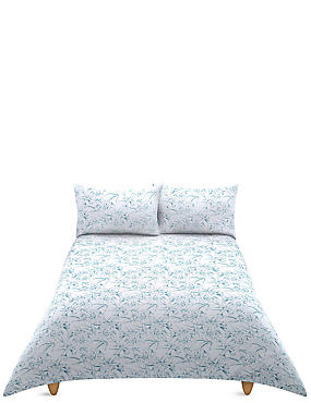 Tamsin Floral Print Bedding Set, BLUE MIX, catlanding