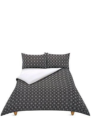 Mono Decoration Bedding Set, BLACK MIX, catlanding