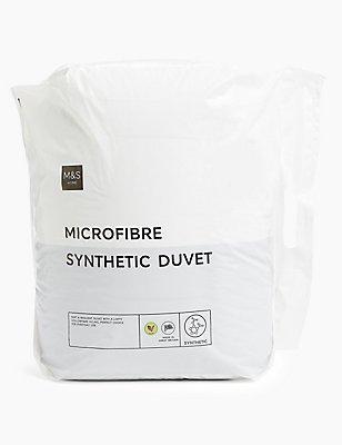 Microfibre 13.5 Tog Duvet, WHITE, catlanding