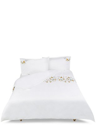 Alice Embroidery Bedding Set, MULTI/NEUTRAL, catlanding