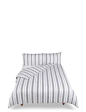 Core Deckchair Stripe Bedding Set, BLUE/WHITE, catlanding