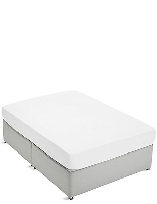 Extraordinary Value Fitted Sheet, WHITE, catlanding