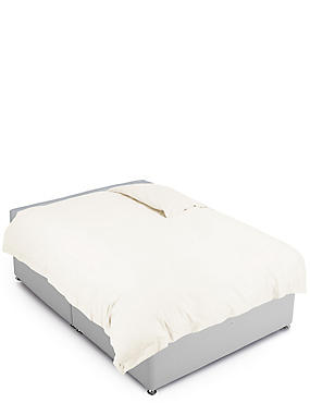 Pure Egyptian Cotton 400 Thread Count Duvet Cover, LIGHT CREAM, catlanding