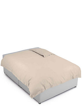 Pure Egyptian Cotton 400 Thread Count Duvet Cover, PUTTY, catlanding