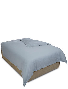 Pure Egyptian Cotton 400 Thread Count Duvet Cover, PEBBLE, catlanding