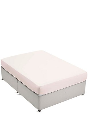 Pure Egyptian Cotton 400 Thread Count Deep Fitted Sheet, PEONY, catlanding