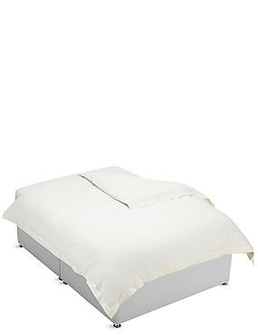 Pure Egyptian Cotton 400 Thread Count Duvet Cover , LIGHT CREAM, catlanding