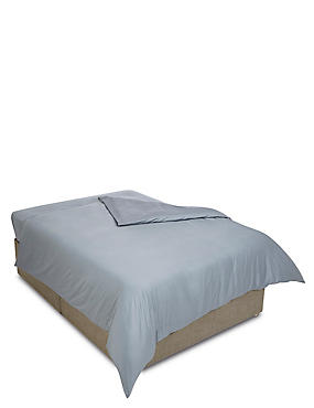 400 Thread Count Sateen Duvet Cover, PEBBLE, catlanding