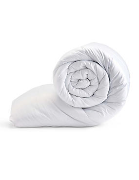 Simply Soft 13.5 Tog All Seasons Duvet, WHITE, catlanding