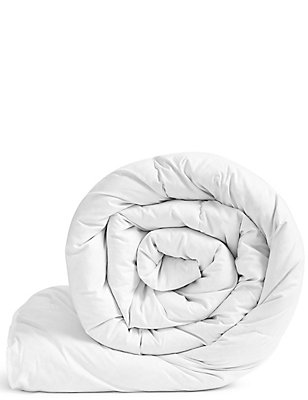 Goose Feather & Down 10.5 Tog Duvet, WHITE, catlanding